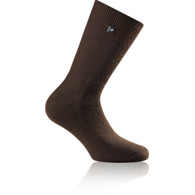 Rohner Fibre Light SupeR Calcetines, dark-brown